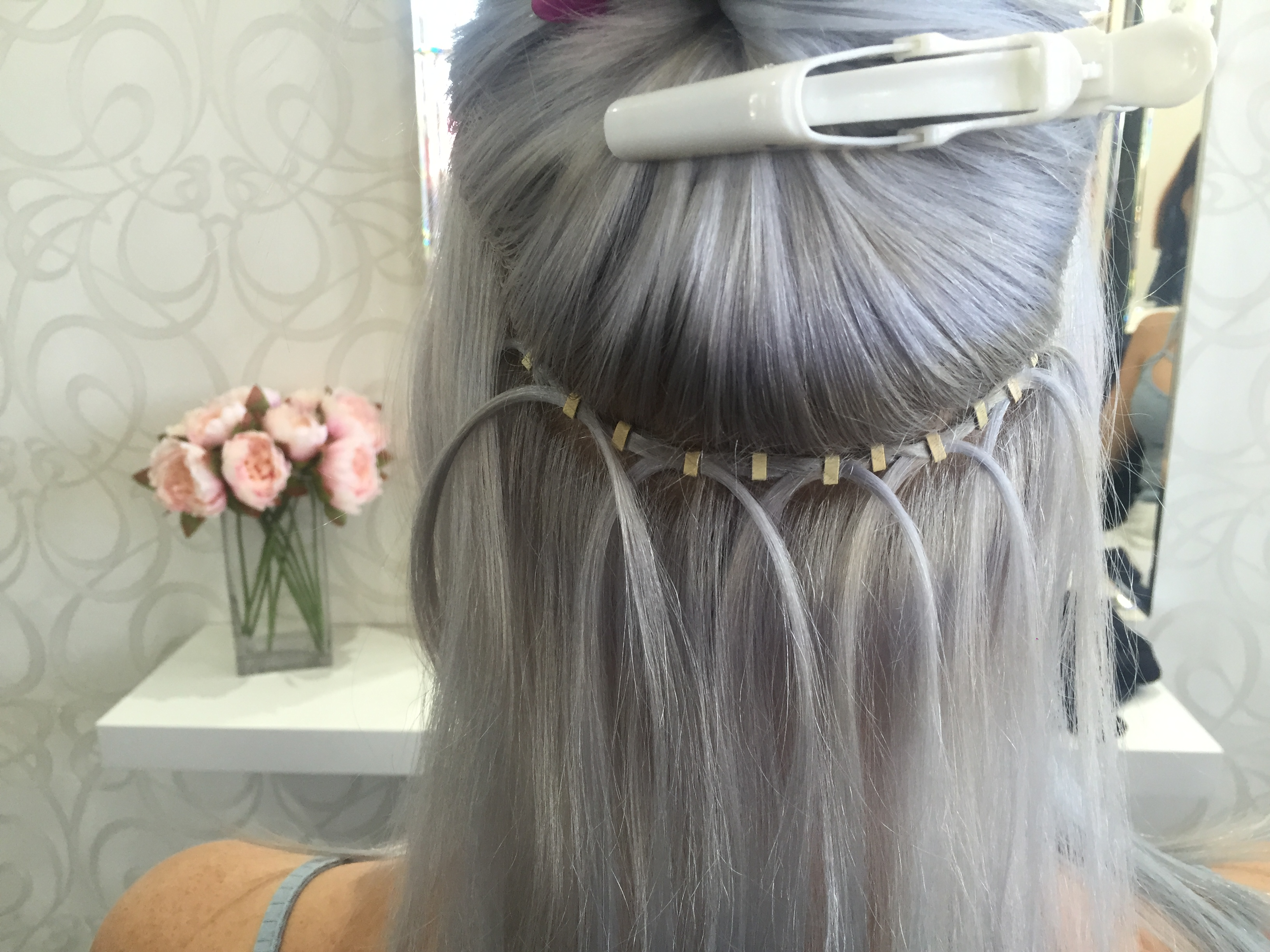 Flat Track Weft Hair Candy Hair Extensions