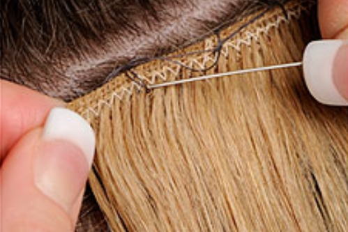 Flat track weave extensions hair candy salon australia flat track weave hair extensions pmusecretfo Gallery